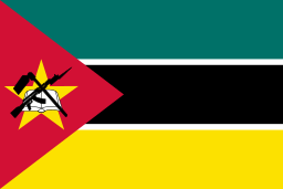 Country Flag Mazambique