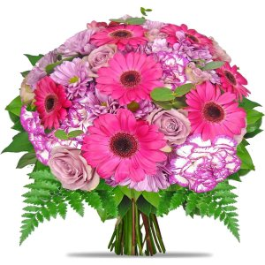 Pink Daisies & Carnations