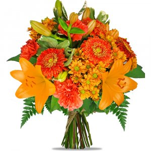 Orange Surprize Bouquet