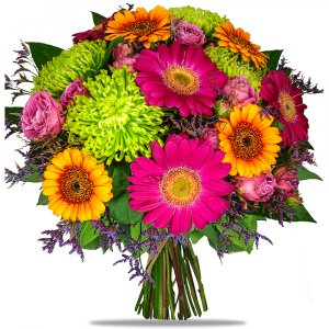 Coloured Romance Bouquet