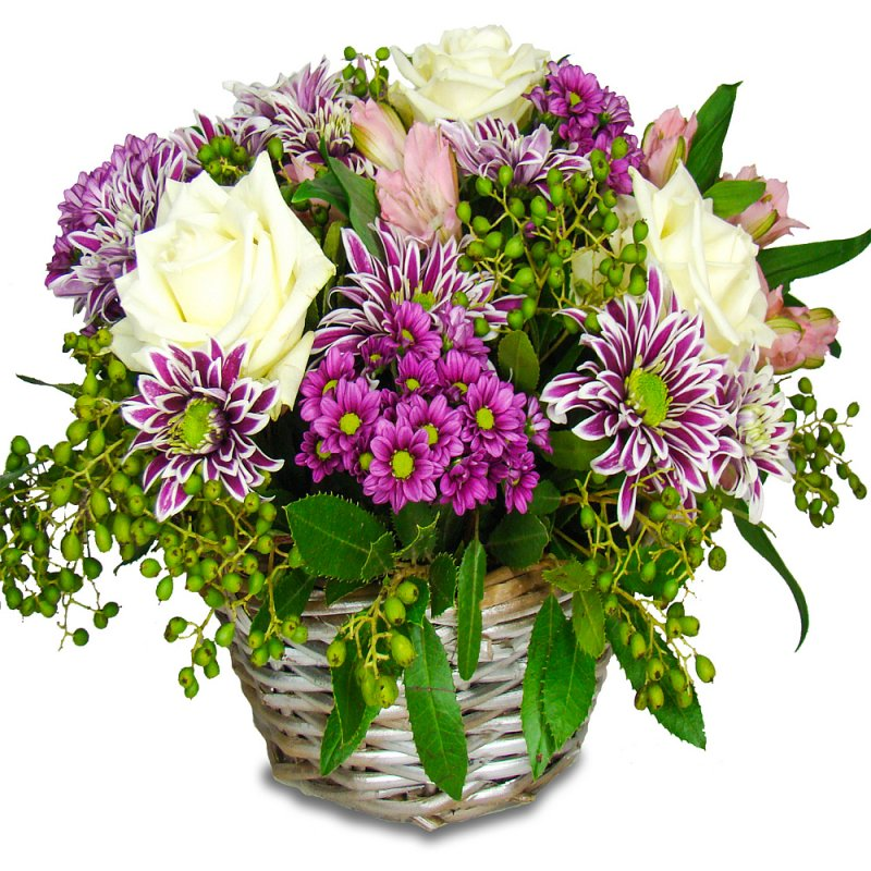 Dream Flower Basket